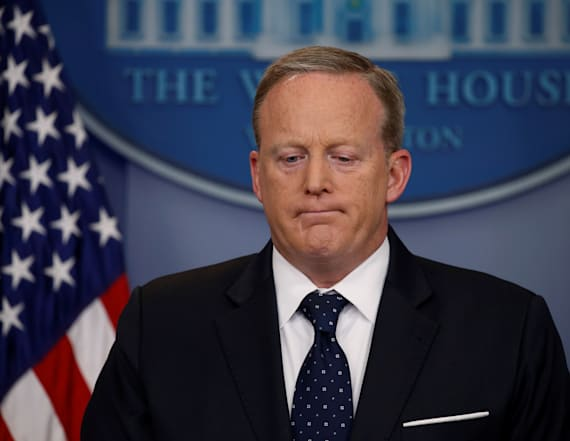 Spicer allegedly stole one item from junior staffers