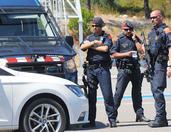 Barcelona van attack suspect may have crossed border