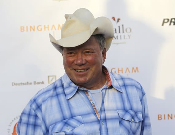 William Shatner signs with country music label