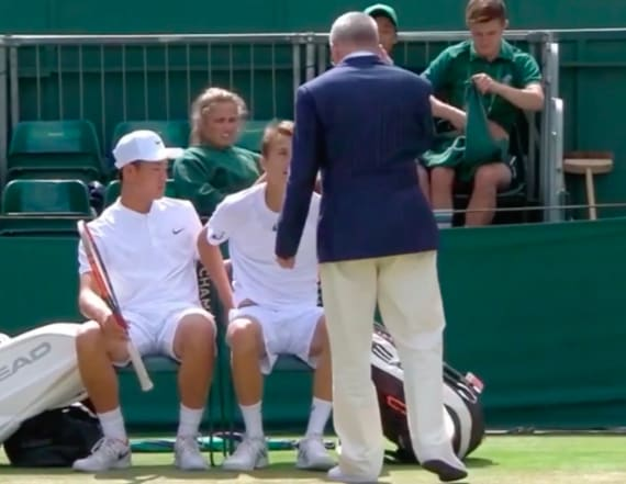 3 players forced to change underwear at Wimbledon