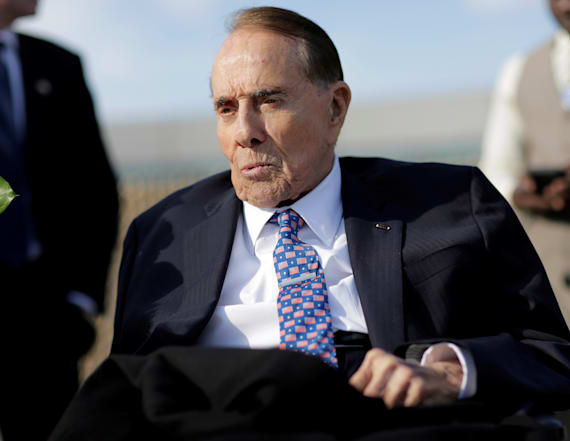 Bob Dole wants one president back in Washington