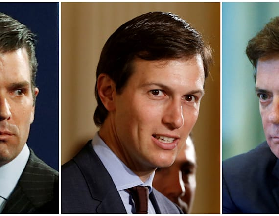 Trump Jr., Kushner, Manafort to appear before Senate