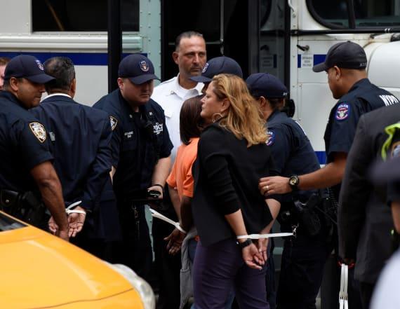 Congressmen arrested outside Trump Tower