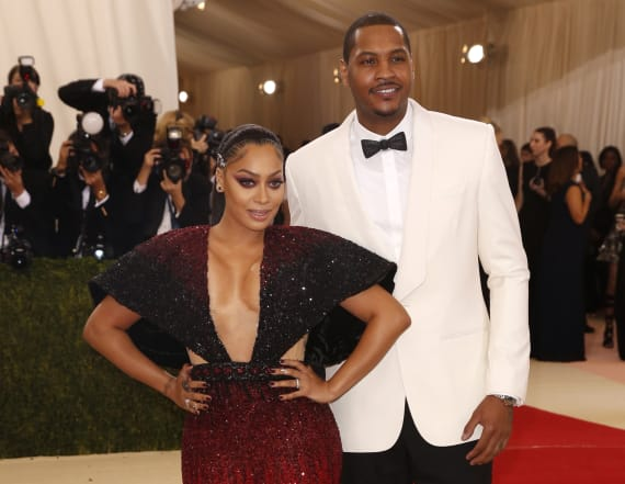 La La Anthony says she's not divorcing Carmelo