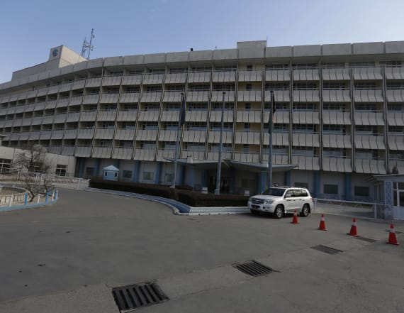 Official: Gunmen attack Kabul Intercontinental Hotel