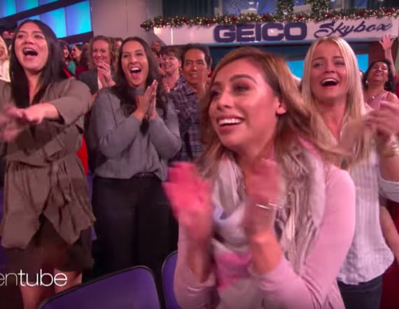 Ellen surprises audience with Channing Tatum