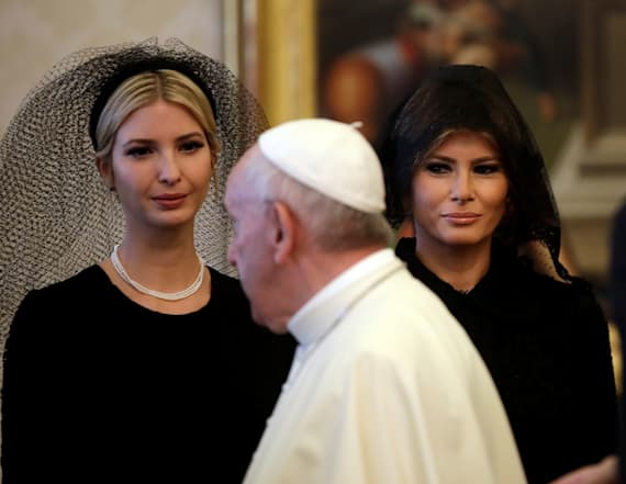 Why the Trumps wore veils in Italy, not Saudi Arabia