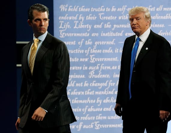 Trump Jr. on the outs with his father: report