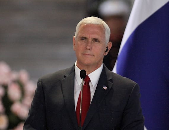 Vice President Pence's high-wire act abroad