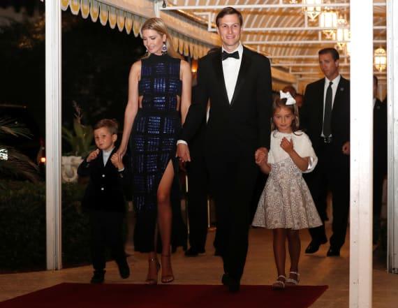 Ivanka Trump and Jared Kushner 'love' Washington