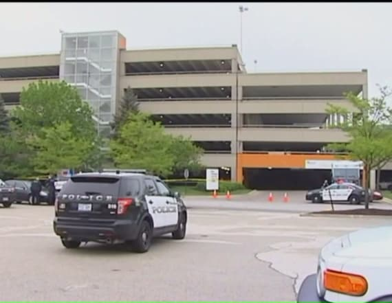 Gruesome discovery made in parking garage at mall