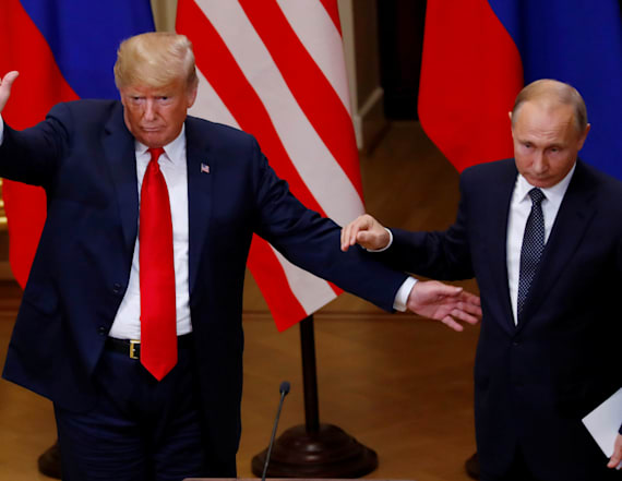 Putin doesn't deny Russia has compromised Trump
