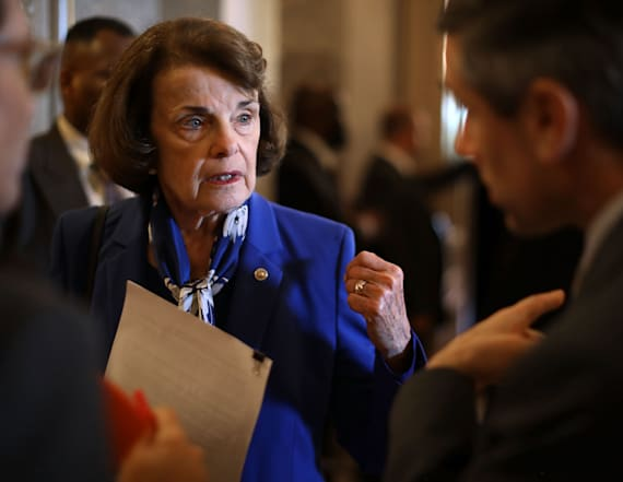 CA democratic party snubs Dianne Feinstein
