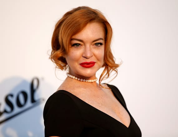 Lindsay Lohan looks nearly unrecognizable at gala