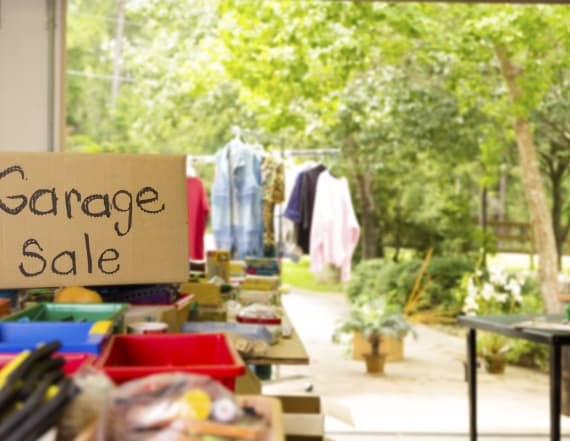21 things you should never buy at garage sales