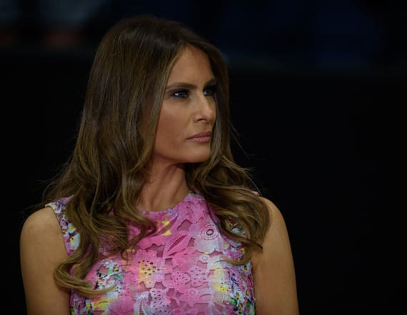Melania Trump stuns in 'boldest look yet' in Ohio