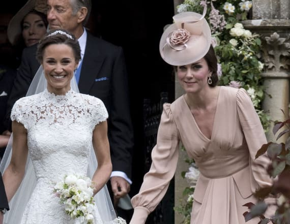 Kate's dress at Pippa's wedding gets mixed reviews