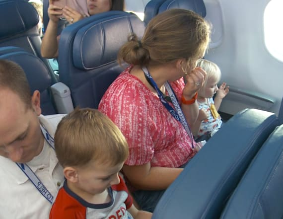 Special 'flight' ease fears for children with autism