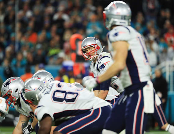 Patriots attempt strange onside kick in loss