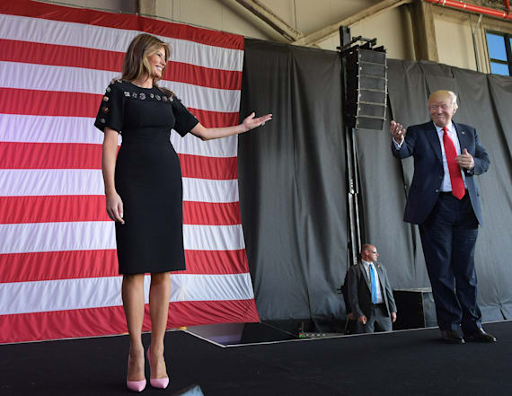 Melania Trump delivers rare speech closing out trip