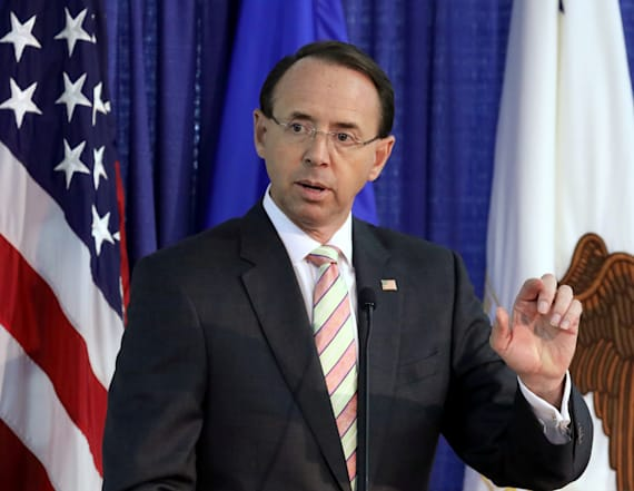 Report: Rosenstein discussed invoking 25th amendment