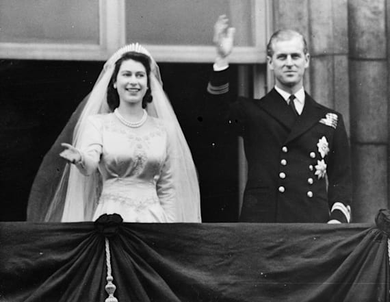 Queen's maid-of-honor still marvels at her dress