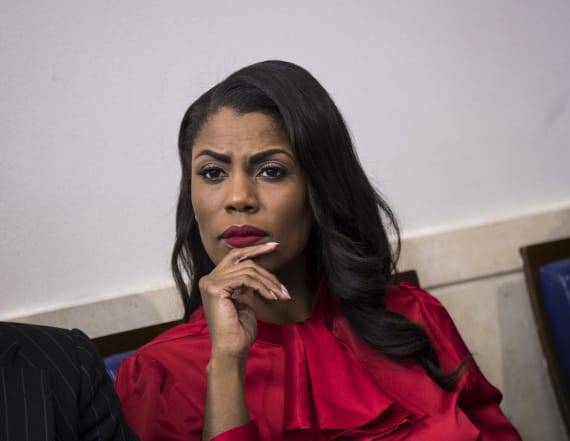 Omarosa makes bizarre remark on Trump's racial views