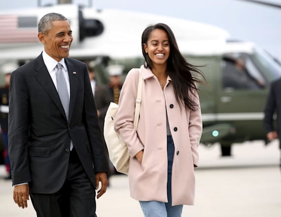 Obama family moves Malia into Harvard dorm