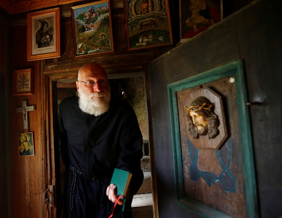 Belgian hermit awaits visitors with schnapps