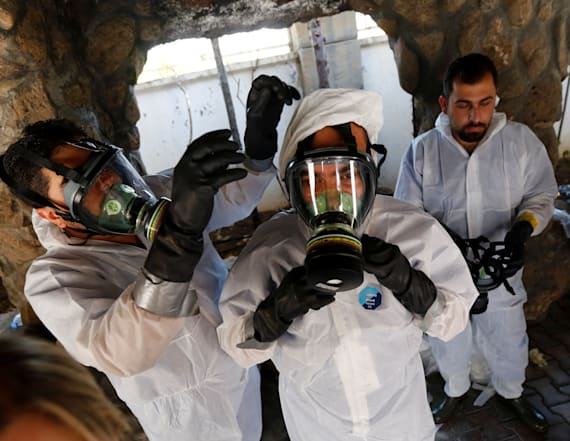 Doctors train to treat chemical attack victims
