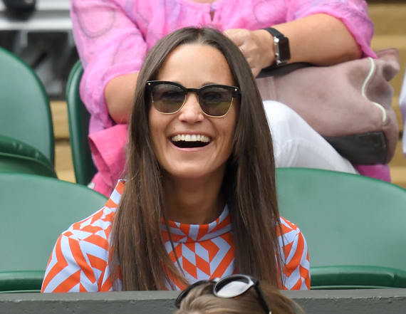 Pippa visits her wedding venue with 2 guests