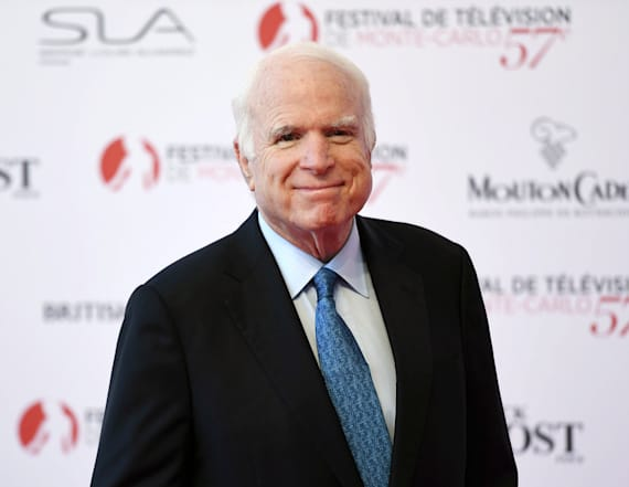 John McCain goes on hike with daughter