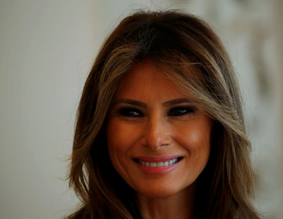 Melania thanks Chelsea Clinton for defending Barron