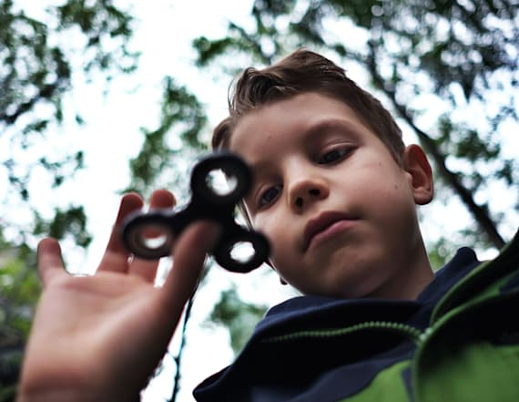 Fidget spinners helping kids in unexpected ways