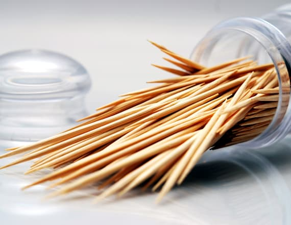Stop using toothpicks to clean your teeth