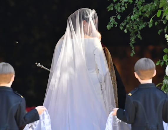 Special meaning behind Meghan Markle's wedding veil