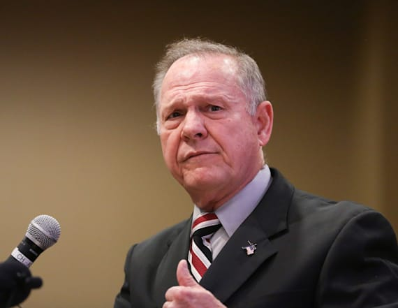 Moore accuser says he groped her to 'feel powerful'