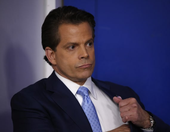Scaramucci may succeed Priebus as chief of staff