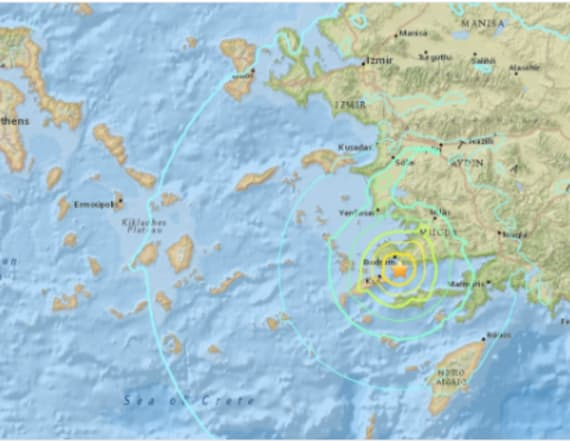 Deadly earthquake hits Greece's Kos island