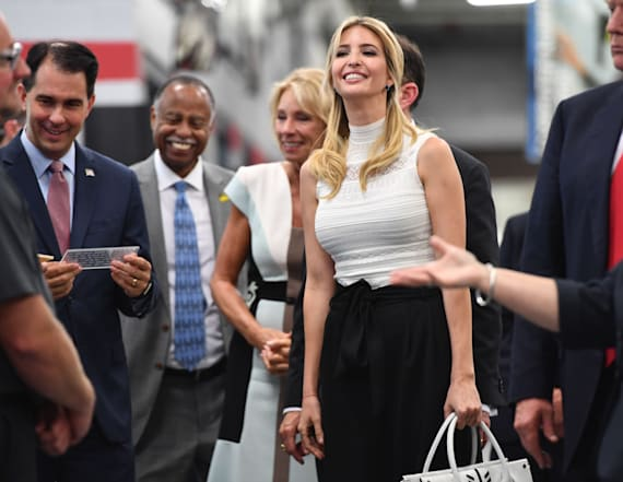 Ivanka Trump just wore this fashion-forward trend