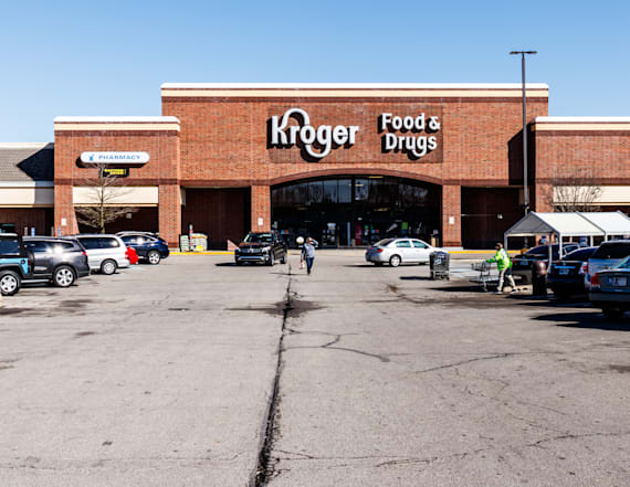 Kroger is charging at Amazon with new technology