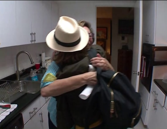 Video shows family's tearful reunion after hurricane