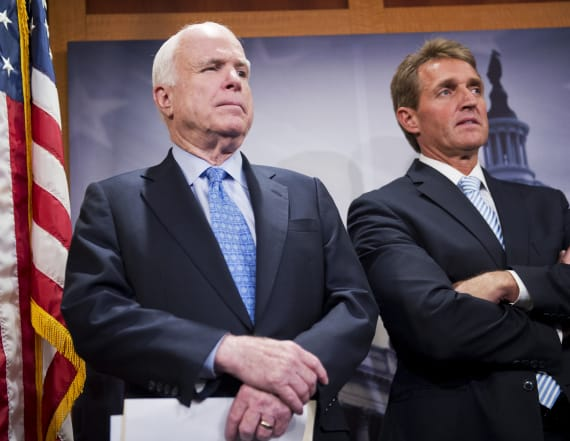 Flake, McCain rip Trump over his media attacks