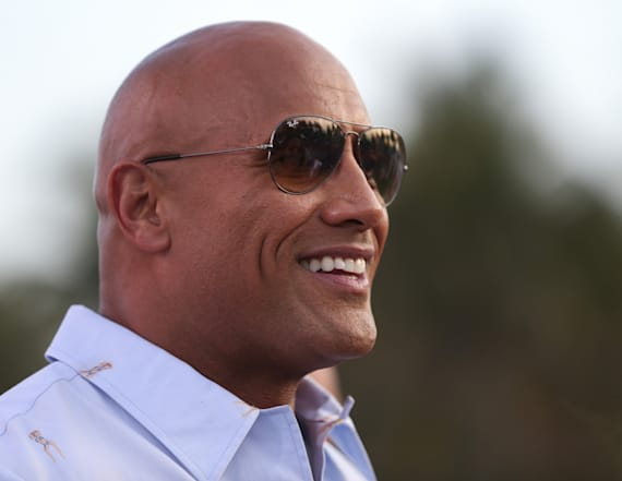 The Rock opens up about running for president