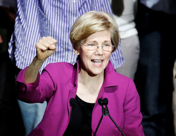 Trump suggests 2020 battle against Elizabeth Warren