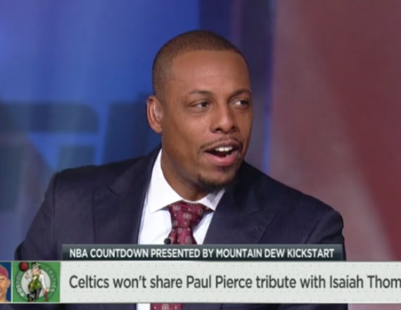 Paul Pierce called 'petty' by fellow ESPN analyst