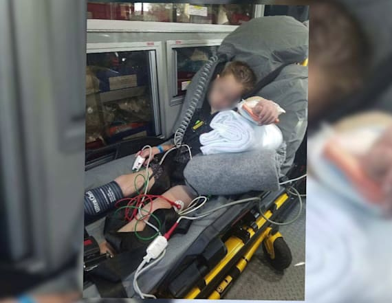 Boy suffers gruesome injury in bounce house