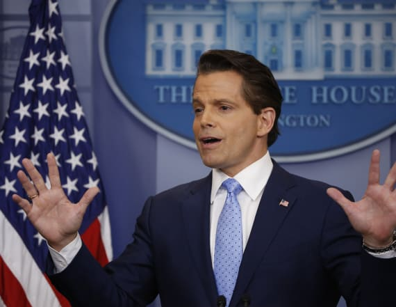 Scaramucci addresses friction with Priebus