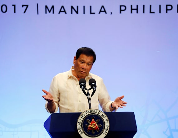 White House: Trump invites Philippines' leader to DC