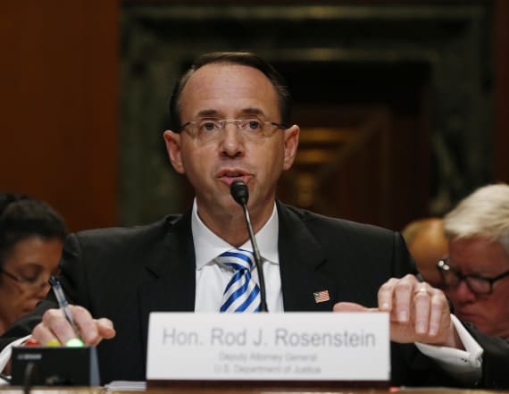 Rosenstein interviewed over Comey's firing: WSJ